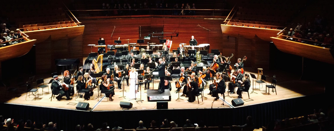 Performance with Orchestra Wellington