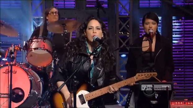 Letterman and Luscious Jackson Shows